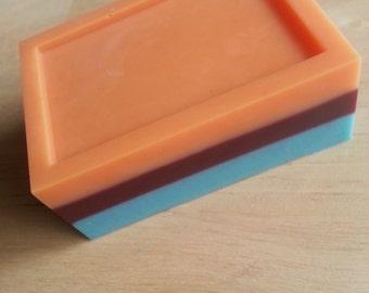 Mango Peach Salsa Shea Butter Soap