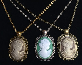 Cameo, Cameo Necklace, Cameo Jewelry