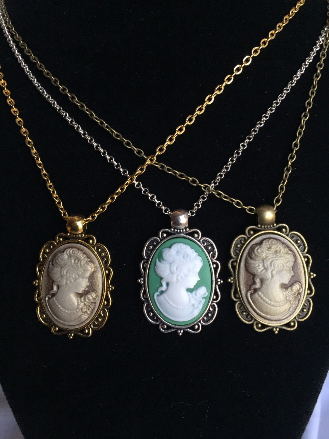 cameo cameo necklace cameo jewelry