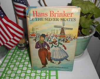 1954 Hans Brinker or The Silver Skates by Mary Mapes Dodge