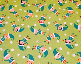 Little Elves Fabric By The Yard FBY