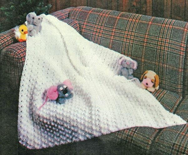 baby blanket crochet pattern popcorn stitch baby christening