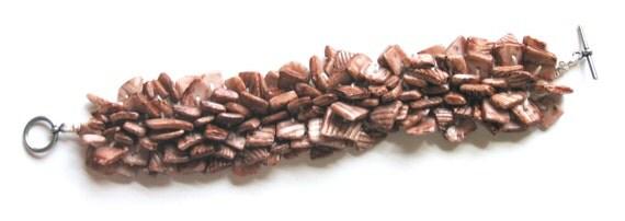 Chips Galore Bracelet - PDF KNITTING PATTERN