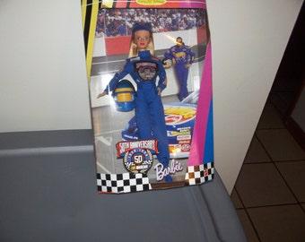 Nascar Barbie doll