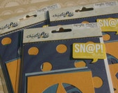 Simple Stories - Charmed Life Snap Cuts - 8 Cards Per Package - Lot of THREE Packages