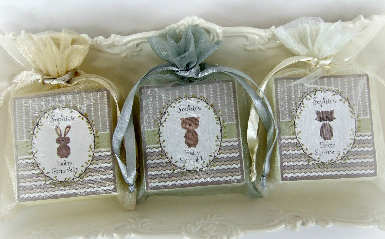 baby shower soap favors woodland favors set of 12 by abbeyjames