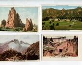Postcards of Colorado and Rocky Mountains Grab Bag no. 1, Set of 7 souvenir vintage postcards