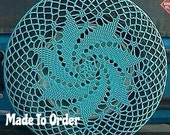 Spiral Crochet Spare Tire Cover