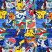 1 meter Pokemon fabric
