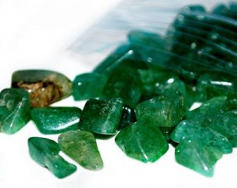 Green Aventurine Chip Beads-  Liquidation Sale