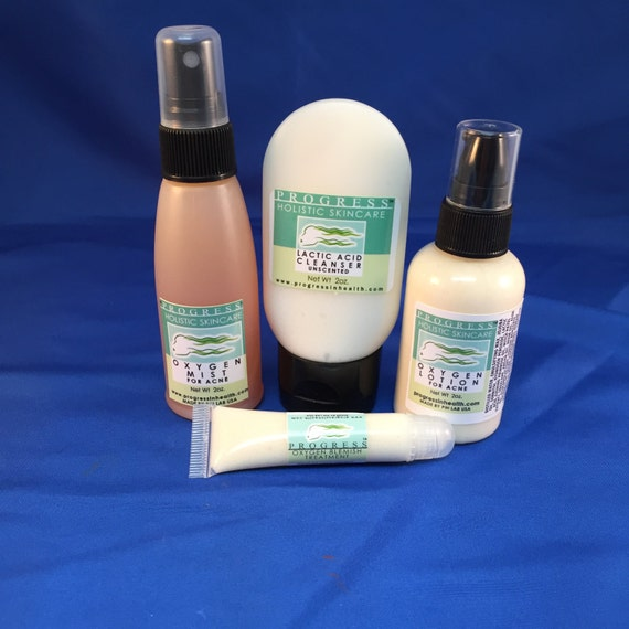Natural Clarifying Skincare System Vegan Cosmetics Non Toxic Cosmetics For Blemished Skin