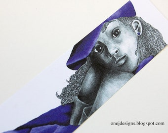 Purple Girl 2 Bookmark