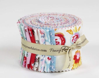 "Milk, Sugar & Flower Rolie Polie 2.5"" Strip Roll"