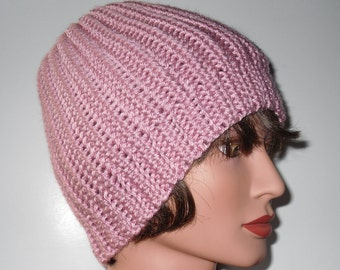 Knit Like Beanie Pink