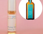 Moroccan Oil Perfume Roll On - Rose, Citrus, Vanilla, Amber, Woods