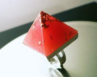 NEW Lakshmi Abundance Orgone Pyramid Ring