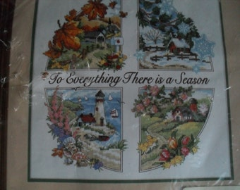Dimensions Kit CountedCross Stitch 4 Seasons