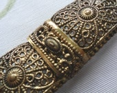 Filigree Bar Brooch early 20th century REDUCED PRICE