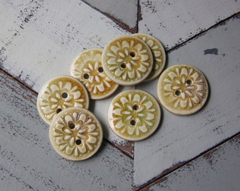 porcelain button