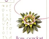 pendant tutorial / pattern Hans...PDF instruction for personal use only