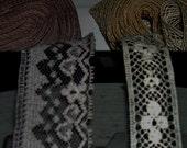 TRIM Antique Net Lace Edging Scalloped Floral Fine Yards Designs