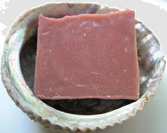 Lavender Rose Soap by Aquarian Bath - cold process soap - rose soap - vegan soap - palm free soap