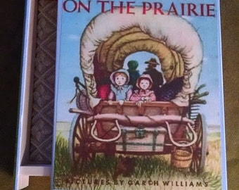 Little House On The Prairie Book Jewelry Box - Laura Ingalls Wilder - Book Jewelry Box -  Jewelry Box - Little House on the Prairie Book Box