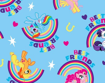 My Little Pony Best Friends Hasbro cotton woven by the yard