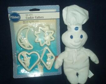 1992 Vintage Pillsbury Cookie Cutters