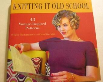 Knitting it Old School 43 vintage-inspired patterns Caro Sheridan Sweater Patterns  Knitting Book  Retro Patterns bk205