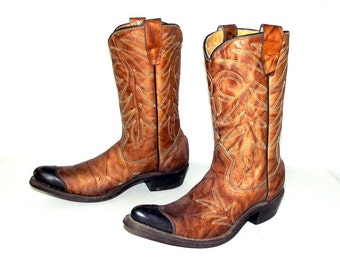 Vintage Texas Imperial brand cowboy boots size 4 D / womens size 5.5