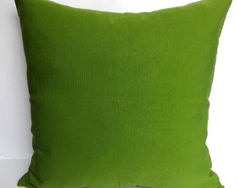 Olive Green Cotton pillow. hand loom pillow. Floor pillows cover-26inch. euro sham. can be custom made available in all colours.