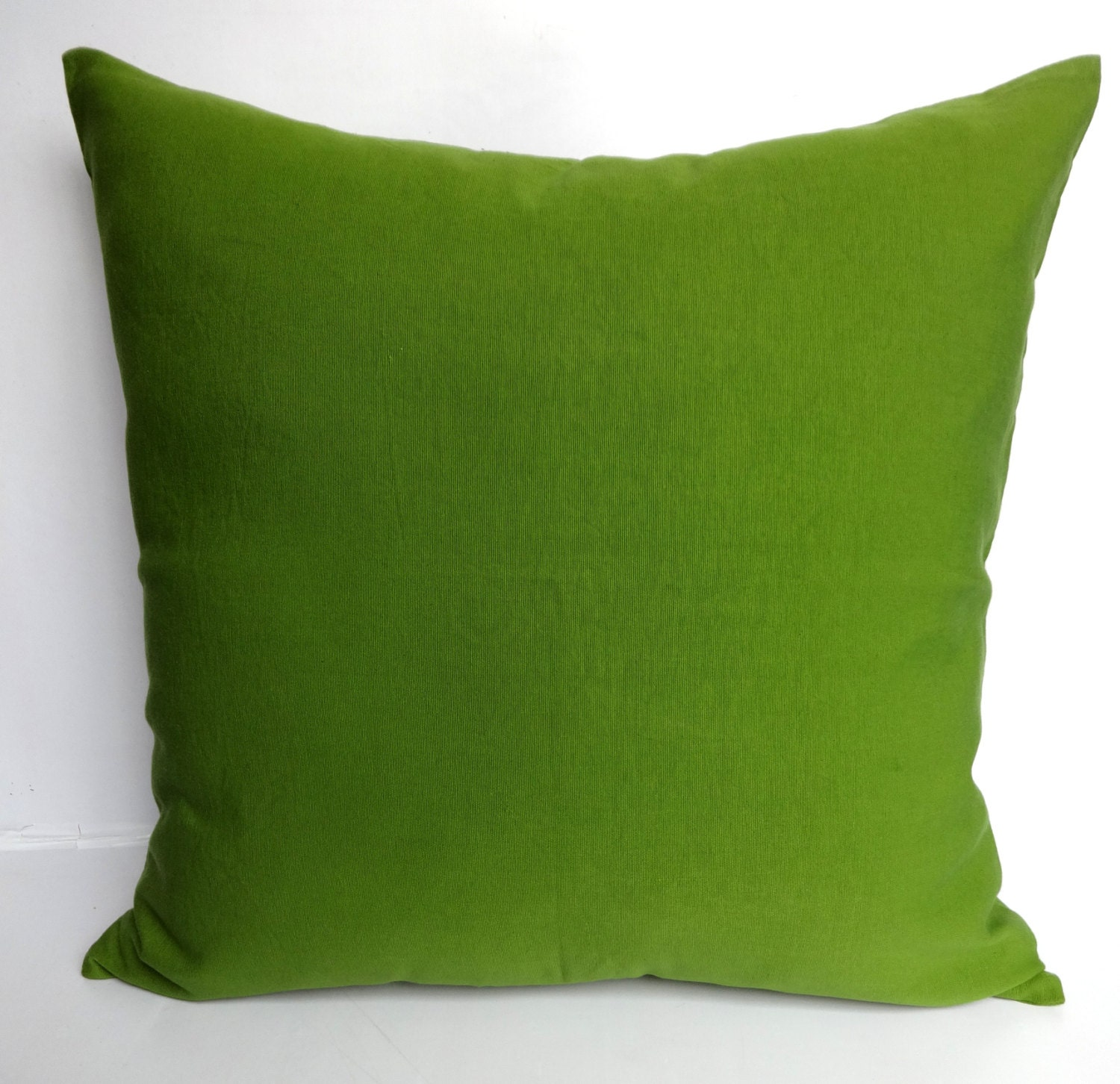 Olive Green Cotton pillow. hand loom pillow. Floor pillows