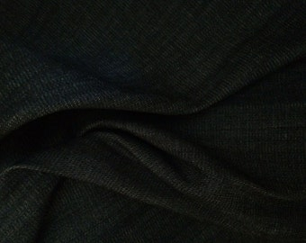 Bamboo Fabric- French Terry in Black
