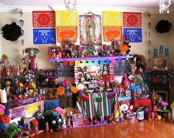 2014 Day of the Dead Altar- A Signed Fine Art Photograph-  Let's Celebrate