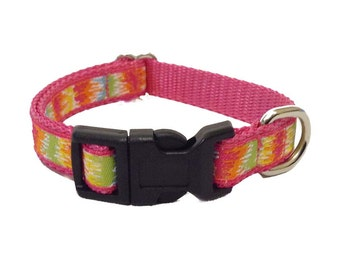 Pink Small Dog Collar, Harness Or Leash