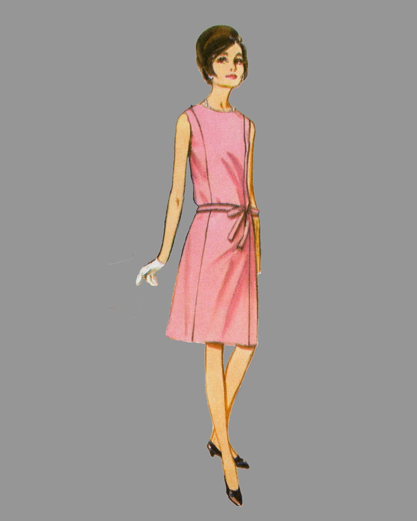 1960 S Blouse Dress 37
