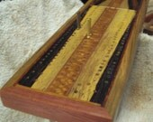 Enter the etys.com coupon LEAPYEAR2016 at etsy checkout for a 29% discount! Artisan Cribbage Board - GG Bridge 26 Survived