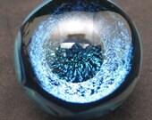 Handmade Dichroic Vortex  Glass Marble