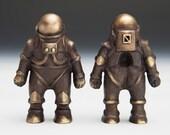 One Bronze Astronaut / Spaceman
