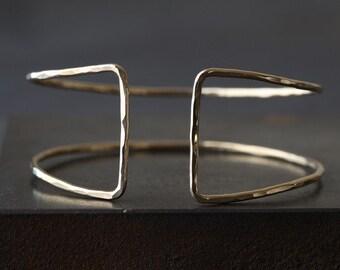 Column Cuff Bracelet