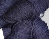 Studio June Yarn Squishy Soft Worsted, Superwash Merino, Color:  Jim's Navy
