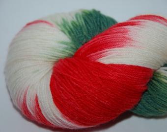 Studio June Yarn Sock Luck - Superwash Merino Wool, Nylon - A Holiday Colorway