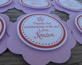 American Girl Birthday Party, Favor Tags, Birthday Party, 100% Customized