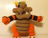 Crocheted Bowser