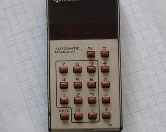 1975 Rockwell International Automatic Percent Calculator 8R