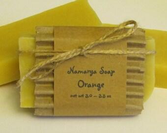 Orange Cold Process Soap