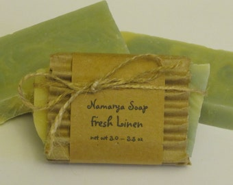 Fresh Linen Cold Process Soap