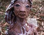 DAtura. Layla. Night. Sale. Sculpture of Crone.
