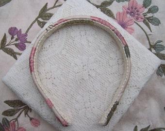 Silk Floral headband